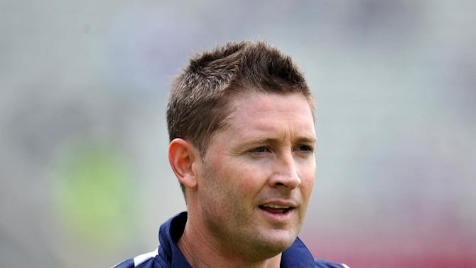 Michael Clarke, pictured, and David Warner have both scored centuries against South Africa