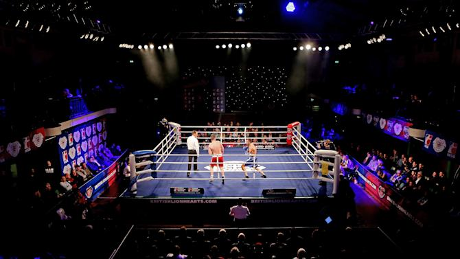 British Lionhearts v USA Knockouts - World Series of Boxing