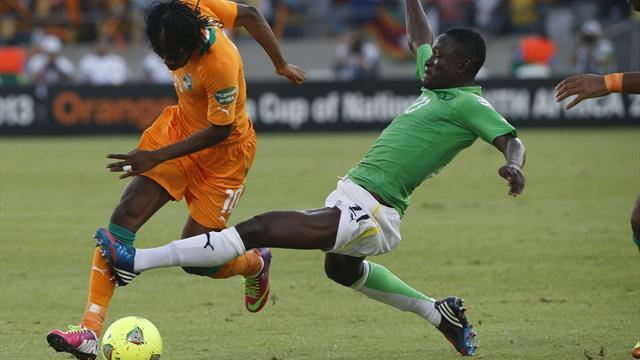 African Cup of Nations - Ivory Coast v Tunisia LIVE