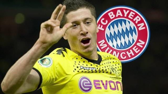 Bundesliga - Euro Transfers: Lewandowski chooses Bayern