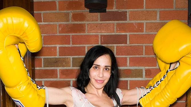 Nadya Suleman Big Band Female Celebrity Wrestling