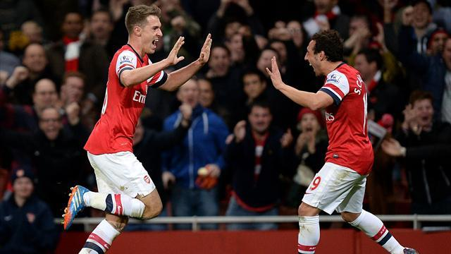 Premier League - Cazorla and Ramsey pen new Arsenal deals
