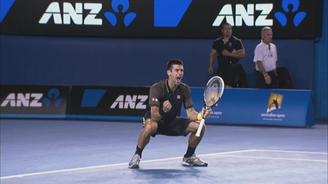 Australian Open - Djokovic closes out victory over Murray