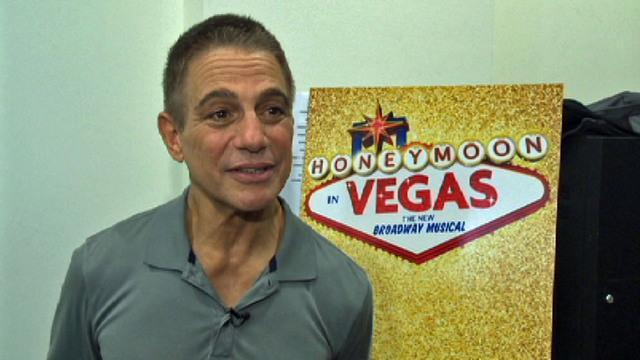 "Tony Danza says ""I do"" to ""Honeymoon in Vegas"""