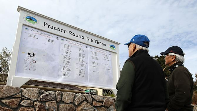 AT&T Pebble Beach National Pro-Am - Preview Day 2