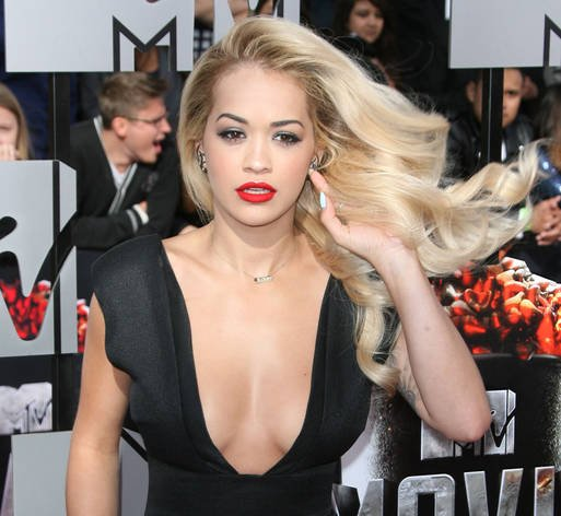 Rita Ora has a rip-roaring time with Zac Efron at MTV Movie Awards