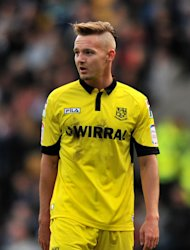 Adam McGurk was the Tranmere matchwinner at Oldham