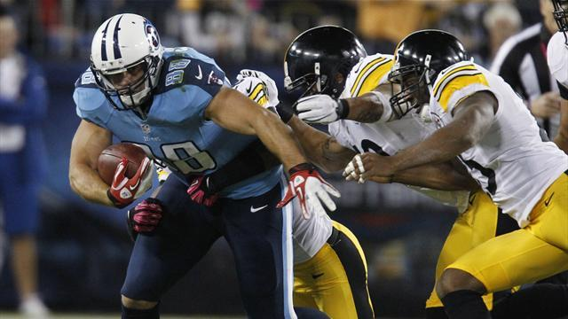 Last-gasp field goal lifts Titans over Steelers