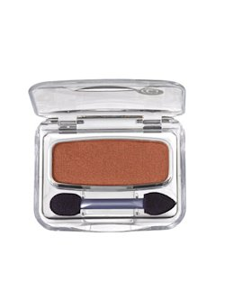 Terra Cotta eyeshadow for blue eyes