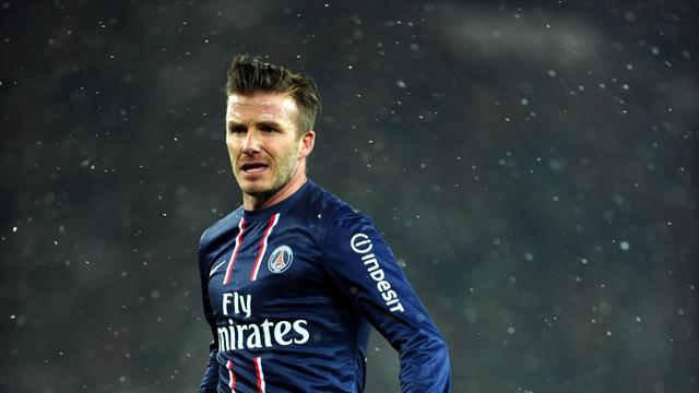 Ligue 1 - Beckham enjoys 'perfect' debut