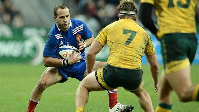 Rugby - Michalak stars as France whip Australia
