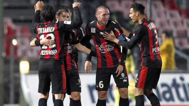 Ligue 1 - Cvitanich return to boost surprise package Nice