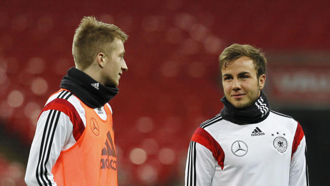 Mario Gotze Has Twitter Nightmare as Marco Reus Left Out of Germany Squad