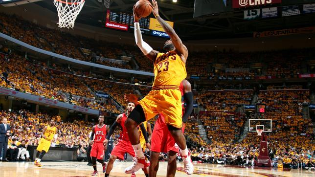 Cleveland Cavaliers sweep Atlanta Hawks to punch ticket to NBA finals