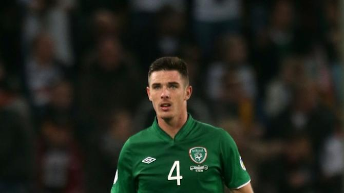 A key centre-back is absent from the revised Ireland squad to face Germany and Poland