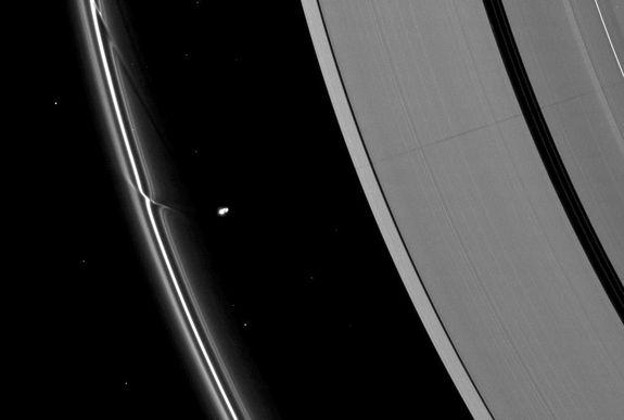 Saturn's Rings and Moons are Solar System Antiques