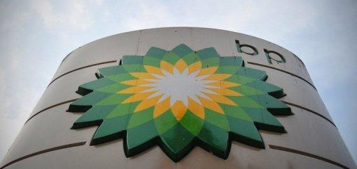 A sign for a BP filling station is pictured in central London on October 30, 2012. Oil giant BP said Sunday it had pulled some non-essential overseas staff out of Libya because of concerns about the political situation, following the lead of the US and British embassies
