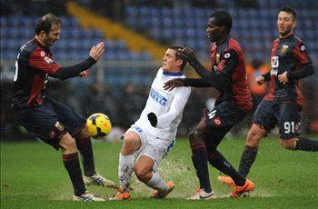 Genoa 1-0 Inter: Antonelli adds to Mazzarri's misery
