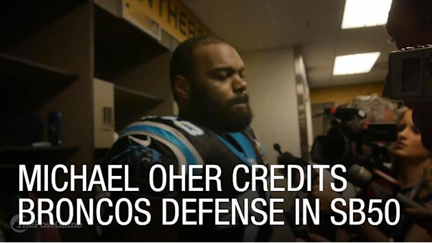 Michael Oher Credits Broncos Defense