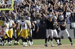 Raiders rally past Steelers 34-31