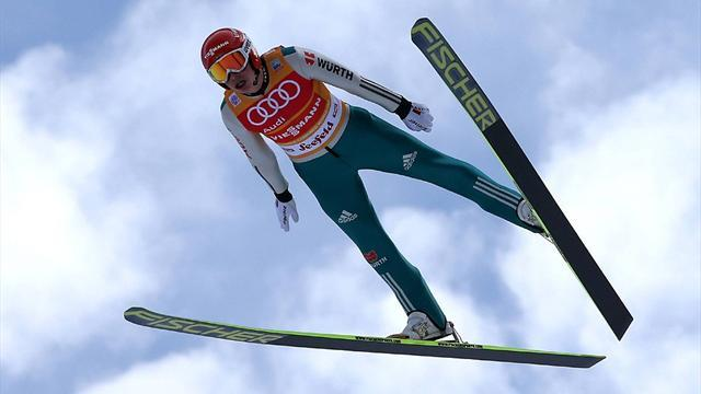 Nordic Combined - Frenzel lands historic Nordic Combined 'triple'