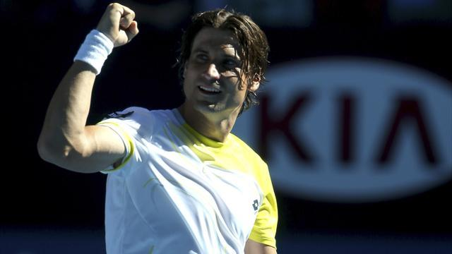 Australian Open - Ferrer survives huge scare to beat Almagro