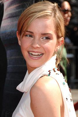 Emma Watson at the Hollywood premiere of Warner Brothers' Harry Potter and the Order of the Phoenix