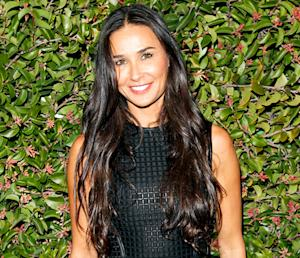 "Demi Moore Is ""Beaming With Joy"" at Event After Ashton Kutcher, Mila Kunis' Pregnancy Reveal"