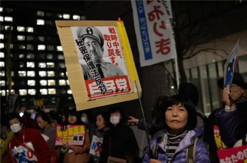 Japan's secrecy law seen as draconian
