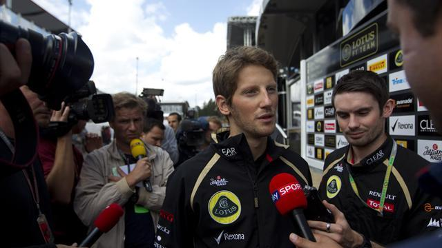 Grosjean accepts ban from Italy GP after Spa crash