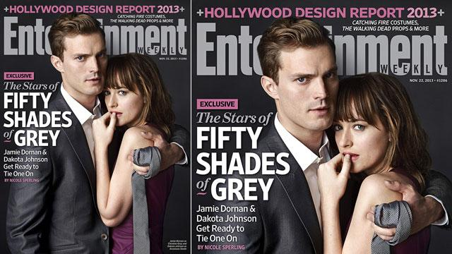 First Look: '50 Shades' Stars Cover EW