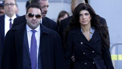 Raw: 'Real Housewives' Couple Pleads Guilty