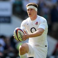 Stuart Lancaster is impressed Owen Farrell (pictured) has doubled his efforts in training