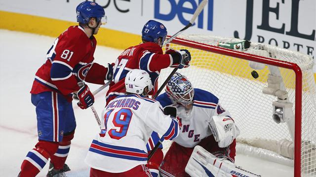 Ice Hockey - Win puts Canadiens top of NHL Eastern Conference again