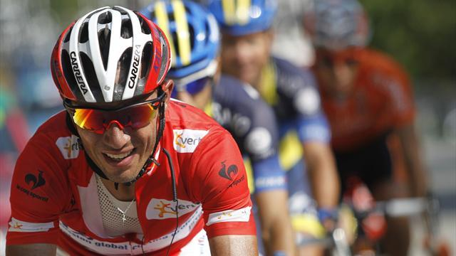 World Championships - Runner-up Rodriguez dejected after Valverde lets Costa go