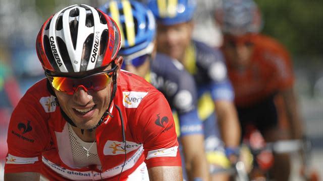 World Championships - Runner-up Rodriguez dejected after Valverde lets Costa go