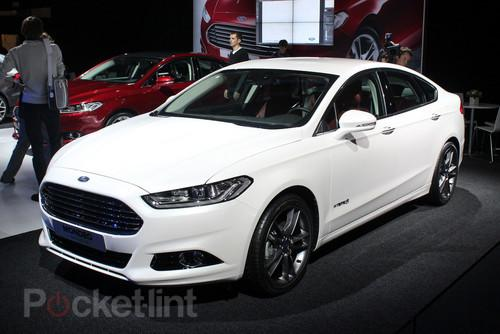 Ford Mondeo (2013) pictures and hands-on. Car And GPS, Ford, Ford Mondeo 0
