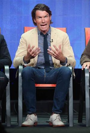 Jerry O'Connell speaks onstage during the 'We Are Men' panel discussion at the CBS, Showtime and The CW portion of the 2013 Summer Television Critics Association tour at the Beverly Hilton Hotel on July 29, 2013 in Beverly Hills -- Getty Images