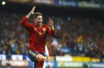 Ramos: Crowd will not be with Spain in Brazil