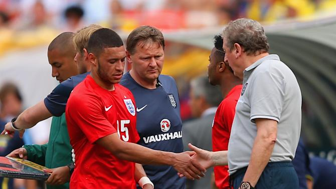 World Cup - Oxlade-Chamberlain 'ruled out for up to three weeks'