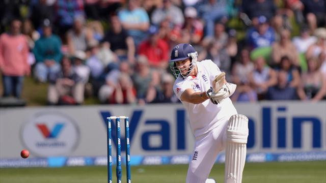 Cricket - Finnsteers England towards draw