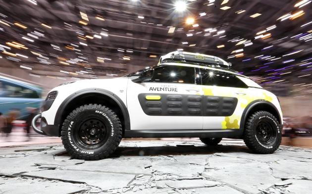 Citroen C4 Cactus Aventure is pictured during the media day ahead of the 84th Geneva Motor Show at the Palexpo Arena in Geneva
