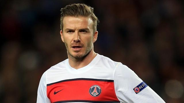 Football - Beckham announces retirement