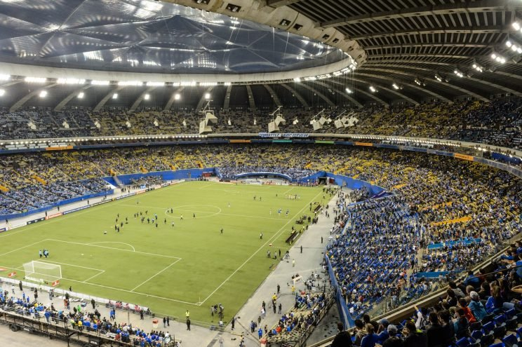 A crowd of 60,000 is expected at Montreal's Olympic Stadium for Tuesday's first leg of the MLS East final against Toronto.