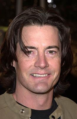 Premiere: Kyle MacLachlan at the Mann National Theater premiere of Dreamworks' The Mexican - 2/23/2001