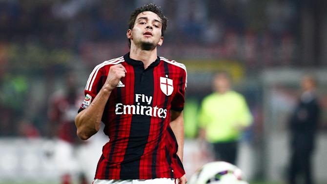 Serie A - Milan's Mattia De Sciglio sent off after less than one minute