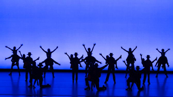 This June 3, 2013 photo released by Sam Morris PR shows dancers from the Art of Dance in Chester, N.J., perform at the Fred and Adele Astaire awards in New York. The awards honor dance in theater and film. (AP Photo/Sam Morris PR, David Dupuy)
