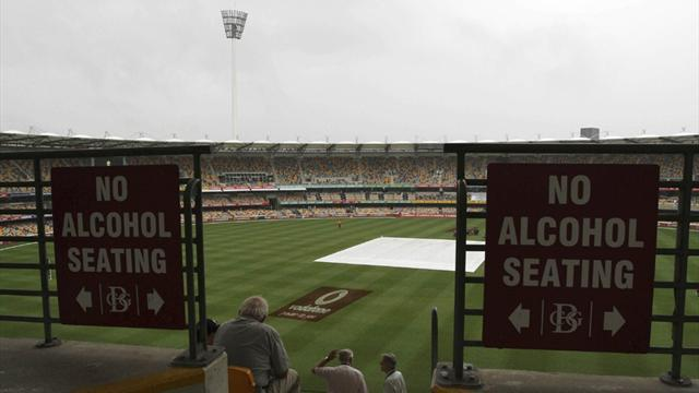 Cricket - Day two of Australia-South Africa Test washed out
