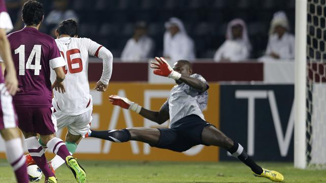 World Cup - Iran beat Qatar to revive qualifying campaign
