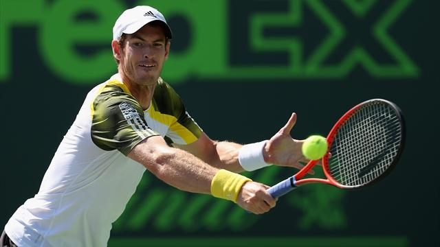 Miami Masters - Murray outlasts Gasquet to reach final
